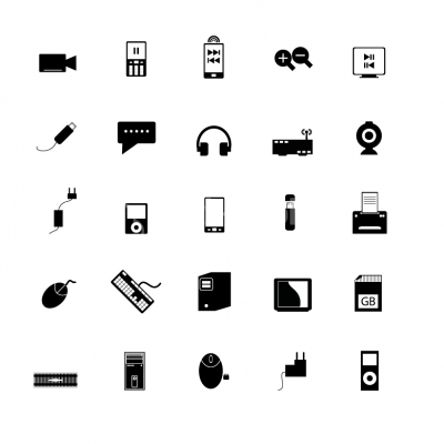 Media Icons - Illustration